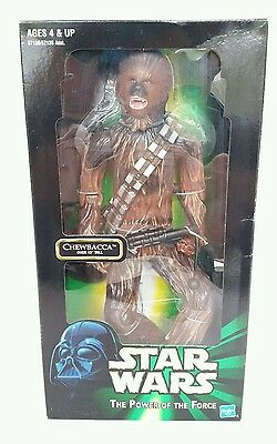 "Star Wars Power of the Force Collection Chewbacca 13"" 1/6 Scale Figure"