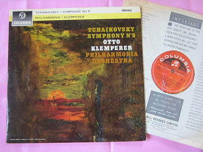 SAX 2497 TCHAIKOVSKY Symphony No.5 Otto Klemperer Phil Orch Columbia Stereo LP