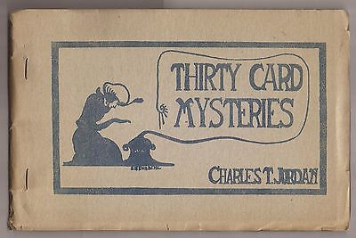 THIRTY CARD MYSTERIES by Charles T. Jordan 1920