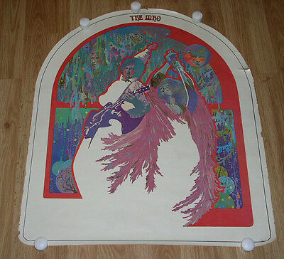 The Who Poster Vintage 1960's Head Shop
