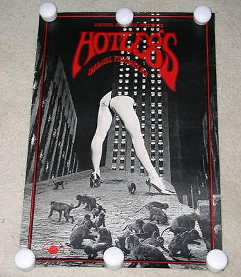 Hotlegs 10Cc Poster Vintage 1971 Promotional