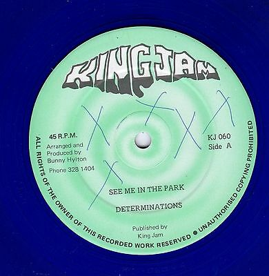 """"""" SEE ME IN THE PARK. """" the determinations. KINGJAM 12in 1984."""