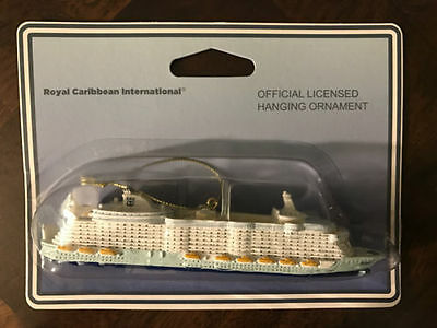 """NEW Official Royal Caribbean Oasis of the Seas Ship Ornament Christmas RCCL 6"""""""