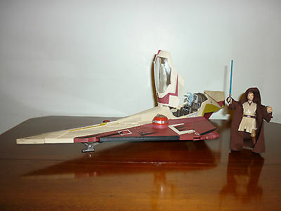 Attack of the Clones Star Wars Jedi Star Fighter with Deluxe Figure