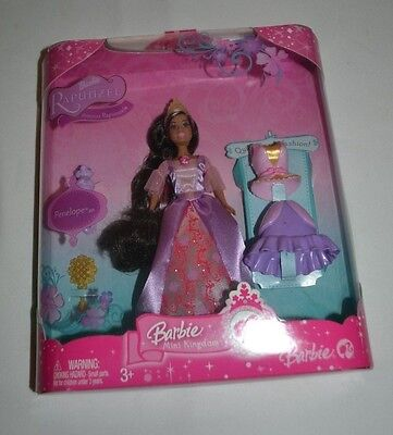 Barbie Mini Kingdom Barbie Rapunzel - Princess Rapunzel & Penelope Rare! Vhtf