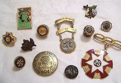 Small Group of Vintage Fraternal Pins