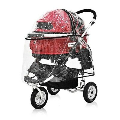 New AirBuggy for Dog Rain Cover for Dog Stroller Accessories (only Rain Cover)