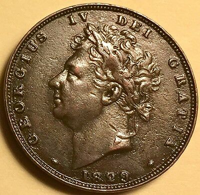 Great Britain - George IV - Farthing - 1829 - Extra Fine - KM-697