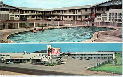 TUCUMCARI, New Mexico  NM   Route 66  Roadside  RAMADA INN  c1960s-70s  Postcard