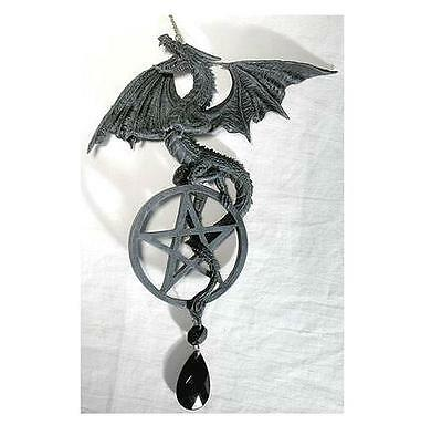 Dragon & Pentagram Dream Catcher Windchime