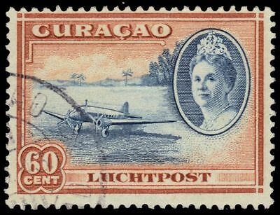 """NETHERLANDS ANTILLES C27 (Mi192) - Grounded Airplane """"Airmail"""" (pf58803)"""