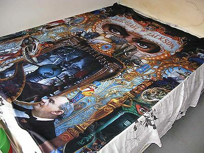 Michael Jackson MJ Dangerous World Tour Double Bed Sheet Cover 150x200 CM