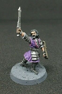 Young Thorin Oakenshield well painted citadel finecast LOTR The Hobbit Dwarf