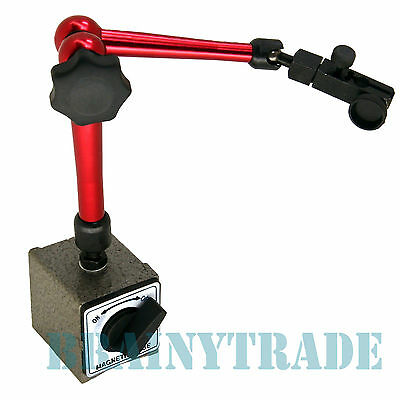 Magnetic Base Holder for Digital Level Dial Test Indicator tool with Stand NEW