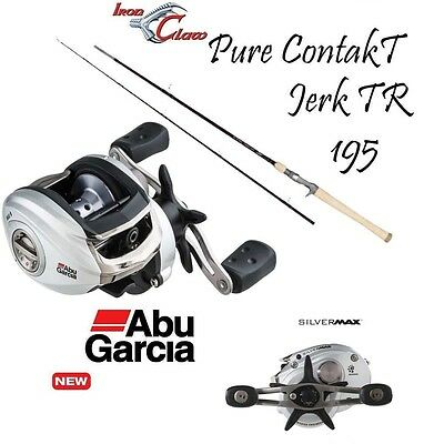 NEW SILVERMax 64 Linkshand by ABU GARCIA + Iron Claw Jerkrute