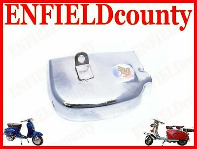 Brand New Vespa Gear Selector Box Cover Chrome Polished Pe Models @cad