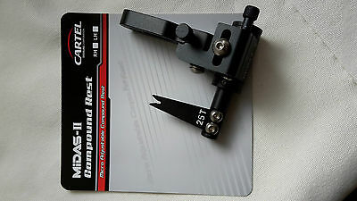 Archery Arrow Rest,strong, Reliable,accurate, Adjustable,midas Adjust,right Hand