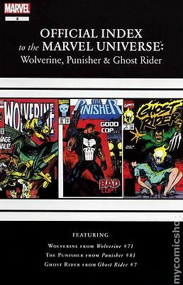 Official Index Marvel Universe Wolverine Punisher Ghost Ride #3 FN