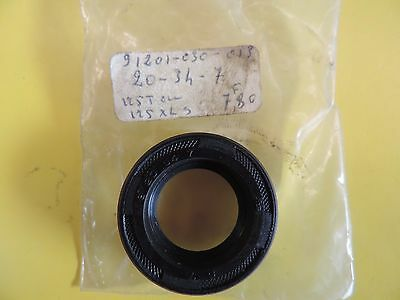 HONDA 125 T XL XLS XR joint spi sortie boite seal tree out box NOS 91201-030-015