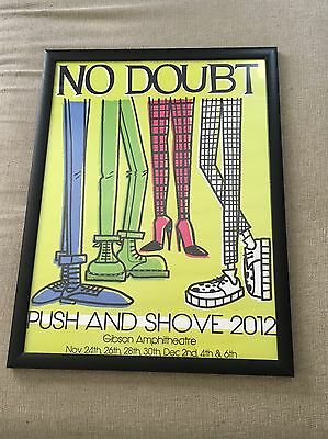 No Doubt Gwen Stefani Push And Shove Gibson Amphitheater Limited Edition Poster