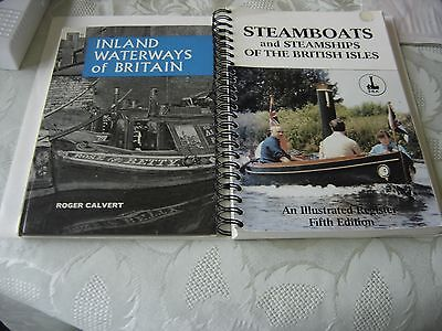 Ian Allan Inland Waterways Of Britain Andsteamboats And Steamships Of Britain