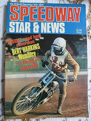 Speedway Star and News 18th December 1970
