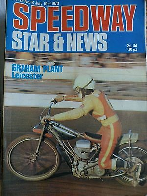 Speedway Star and News 10th July 1970
