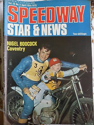 Speedway Star and News 10th April 1970