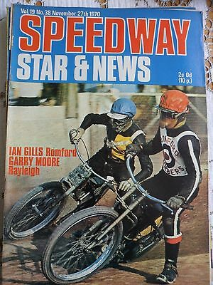 Speedway Star and News 27th November 1970