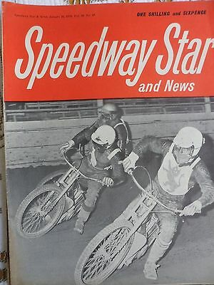 Speedway Star and News 16th January 1970
