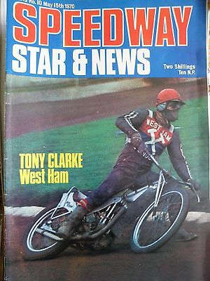 Speedway Star and News 15th May 1970