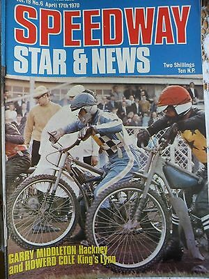 Speedway Star and News 17th April 1970