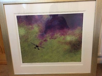 Rolf Harris - Into The Storm - Mounted & Framed Limited Edition Print 458 / 695