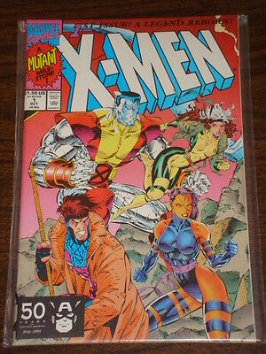 X-Men #1 Vol2 Marvel Comics Cover B October 1991
