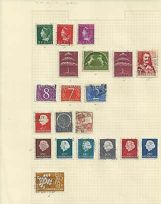 NETHERLAND - COLLECTION OF USED STAMPS - #NED2abc - 3 SCANS