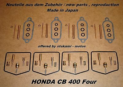 Honda CB 400 Four_carburateur reparation kit_Vergaser_-_Rep - Set_carburator set