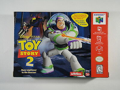 ¤ Toy Story 2 ¤ (BOX ONLY) GREAT Nintendo 64 N64