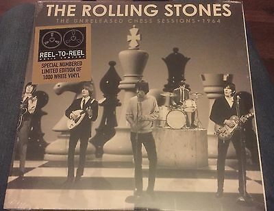 """Rolling Stones - Unreleased Chess Sessions -   10"""" White Vinyl - Brand New"""