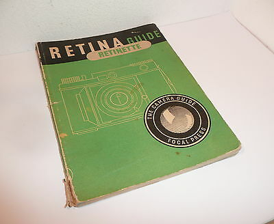 Focal Guide 1953 , Retina / Retinette Guide , Useful & Practical Reference Book
