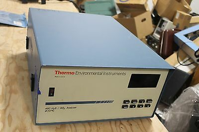 Thermo Electron Corp 45C H2S/SO2 Gas Analyzer Fisher Scientific Environmental