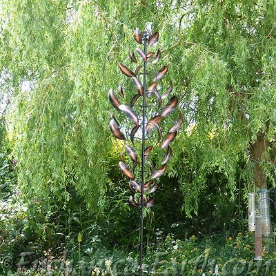 New XXL The Metal Cyclone - Large Wind Spinner (Launched at RHS Chelsea ) 252cm