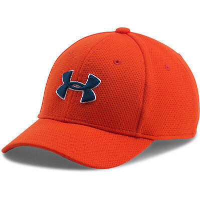 Under Armour Boys Blitzing 2.0 Cap Basecap Mütze Kappe orange white 1254660-860