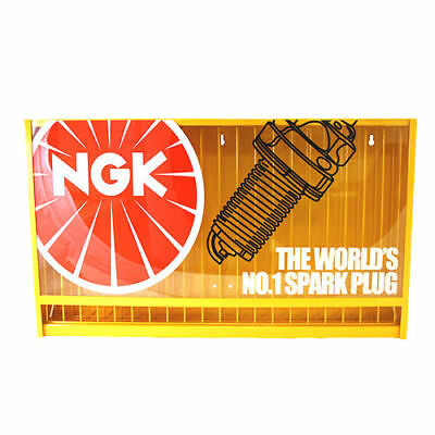 NGK Dispenser Holds 320 Spark Plugs Display Stand Cabinet Rack