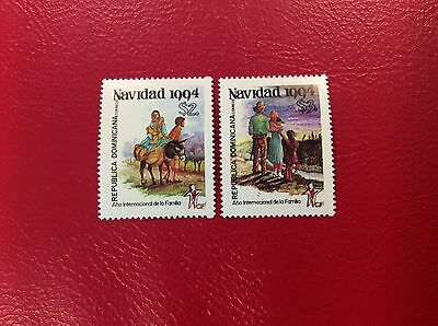 Dominicana  y&t  1165/6. **/mnh