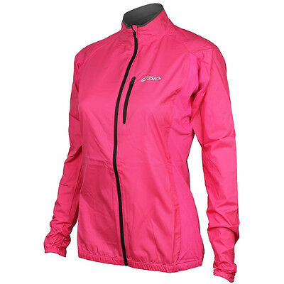 Asics Core Ladies Running Jacket- Pink