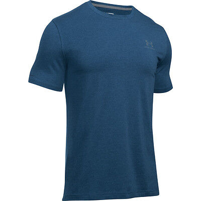 Under Armour Charged Cotton Sportstyle Left Chest Logo T-Shirt navy 1257616-999