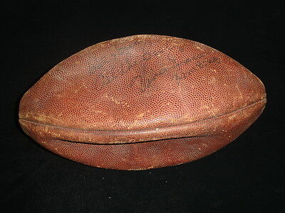 1970's-80's Vince Evans Autographed Game Used Official NFL Football w/ hologram