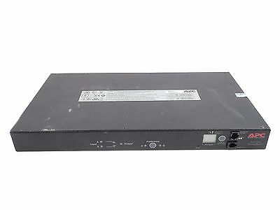APC Automatic Transfer Switch AP7723 20A208V 16A/230V C20 IN (8) C13 (1) C19 Out