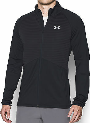 Under Armour NoBreaks ColdGear Infrared Run Mens Running Jacket - Black
