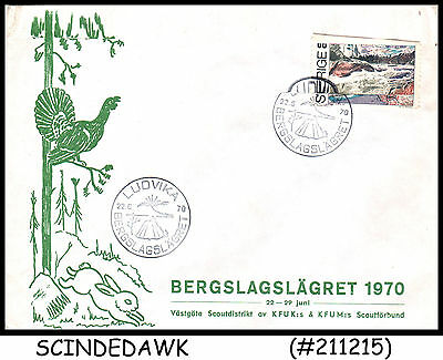Sweden - 1970 Boy Scout Special Cover With Special Cancl.